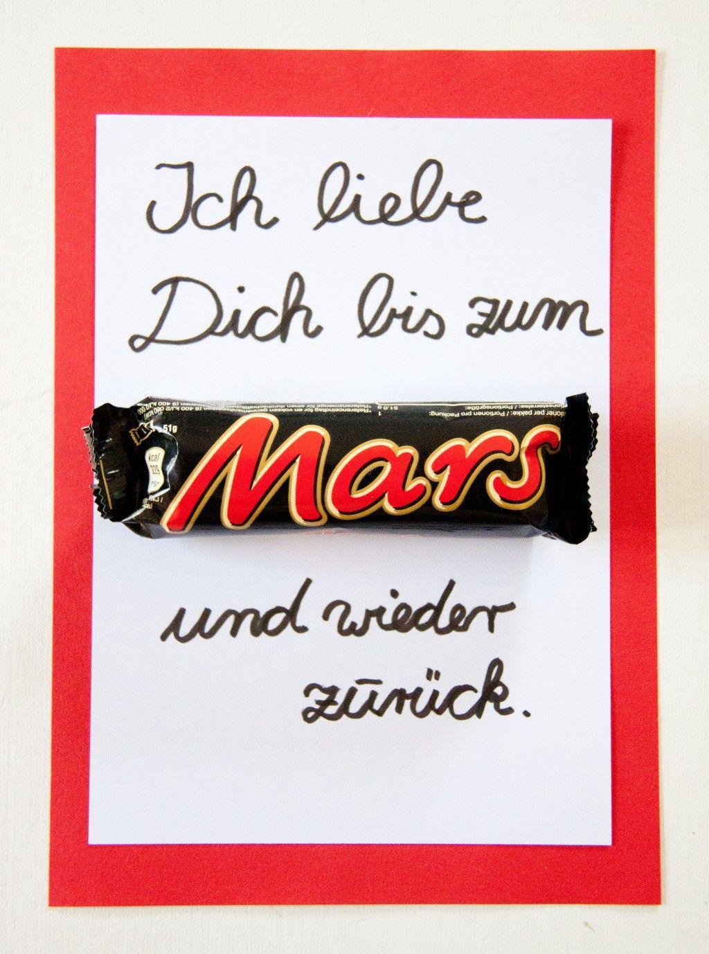 Uberlegen Ihr Braucht Nur Ein Mars Und Ein Bisschen Papier. Mehr Ideen Auf  Http://www.meinesvenja.de/2014/05/04/muttertagskarte Basteln/