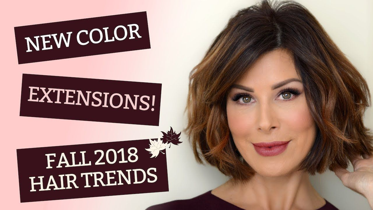 New Color Extensions Fall 2018 Hair Trends Dominique