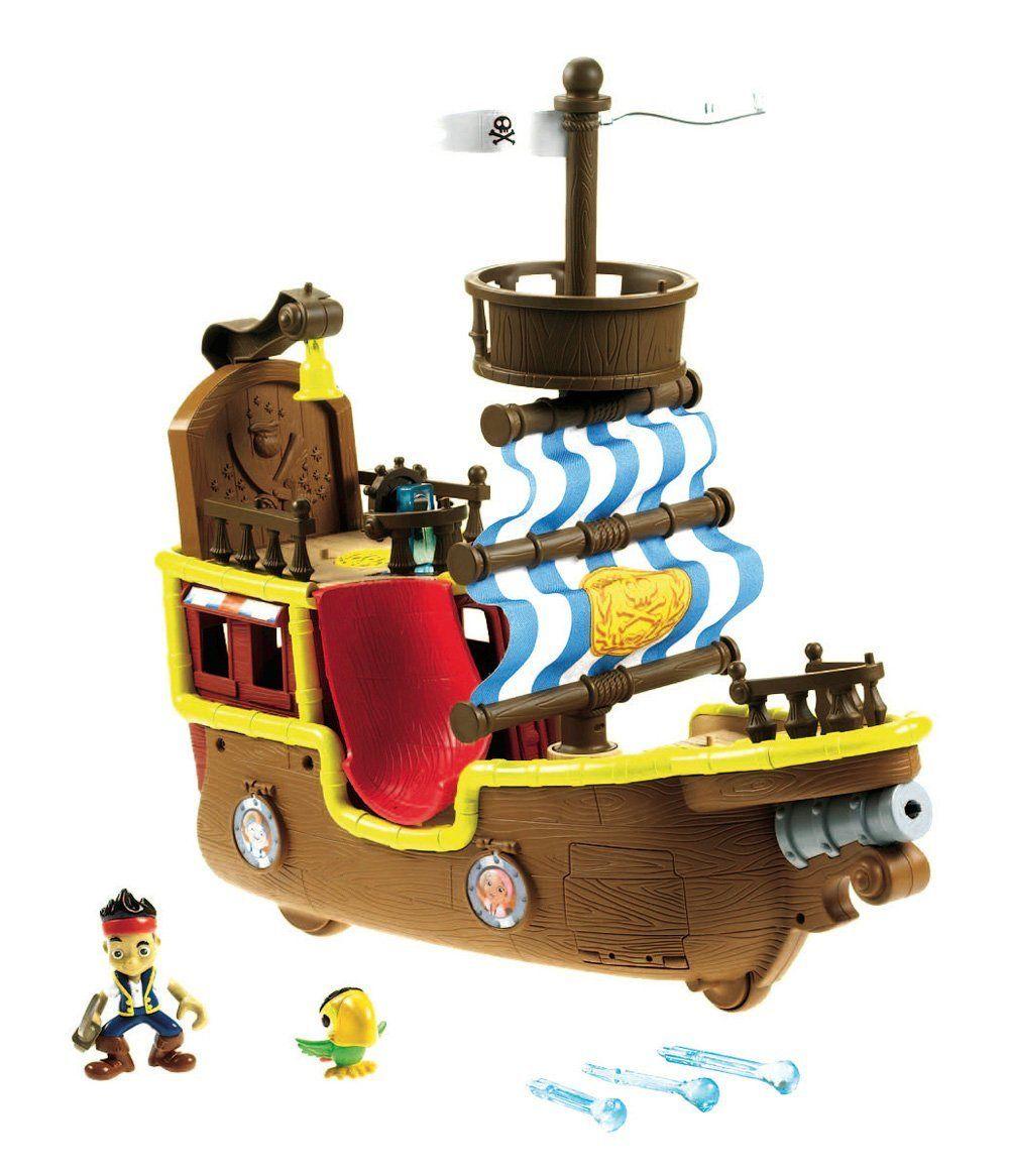 Jake y los piratas - Bucky barco pirata (Mattel X8484): Amazon.es ...