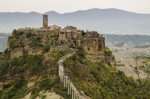 Civita Di Bagnoregio Italy By Giacogala All Things Europe