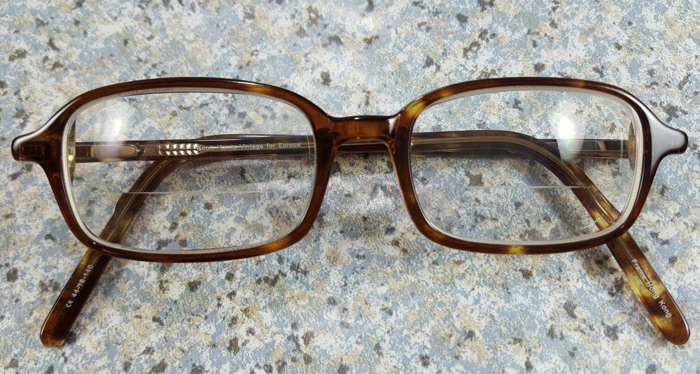 SCOTT HARRIS VINTAGE EUROPA Eyeglasses BROWN Vin-07 Col. 03 ...