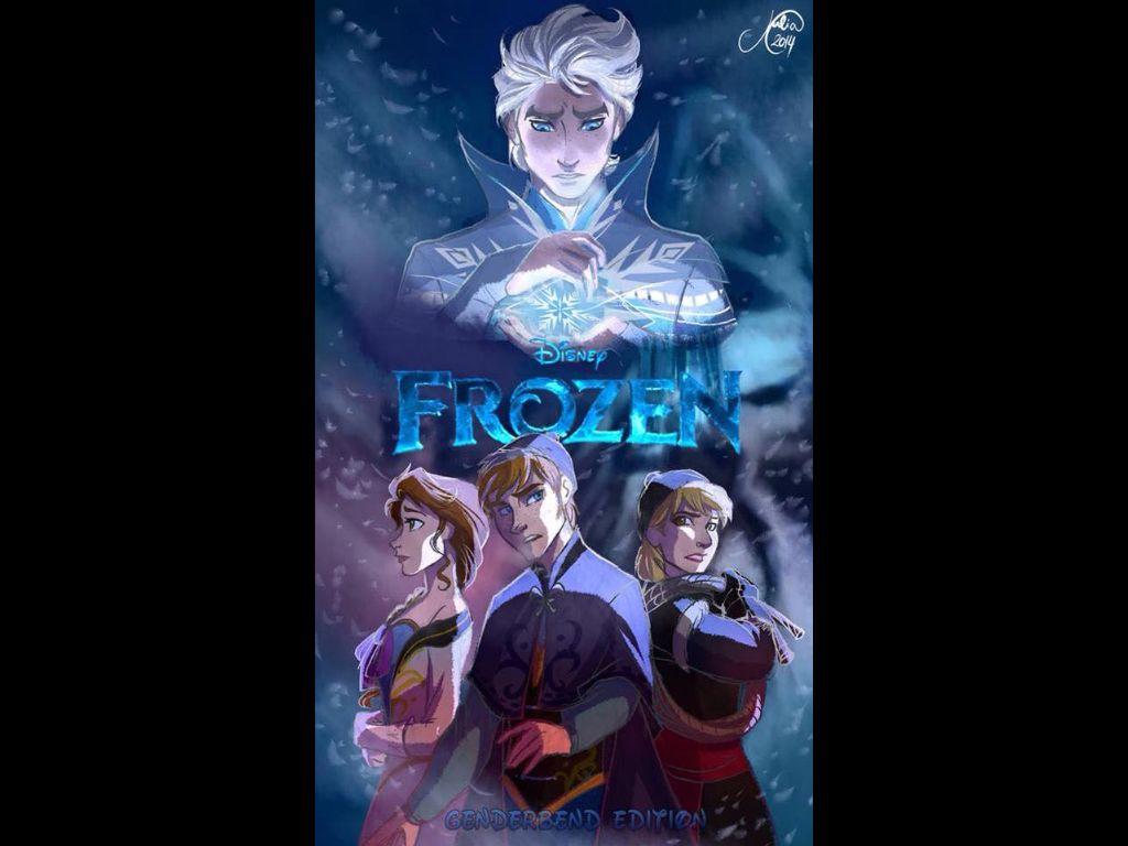 Frozen: Genderbend edition