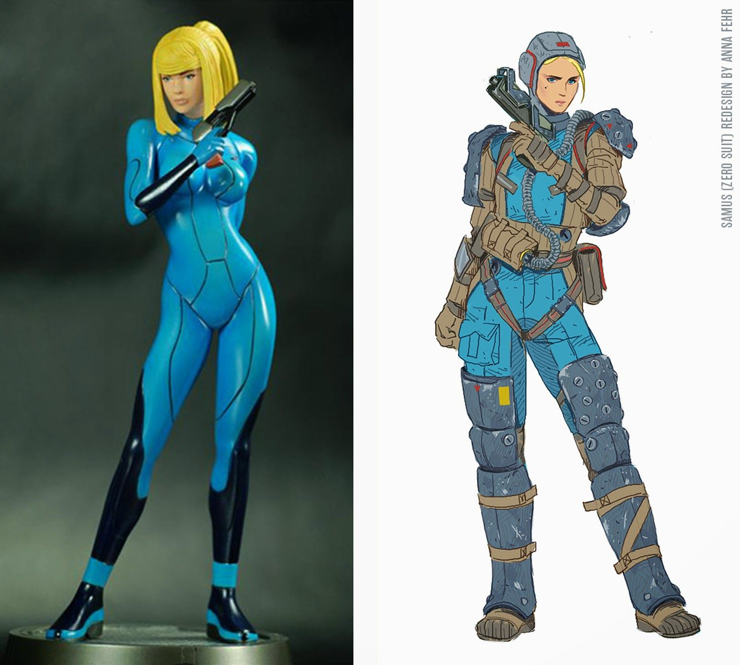 Fantastic Redesigns Of Women Characters By Women Science -2132