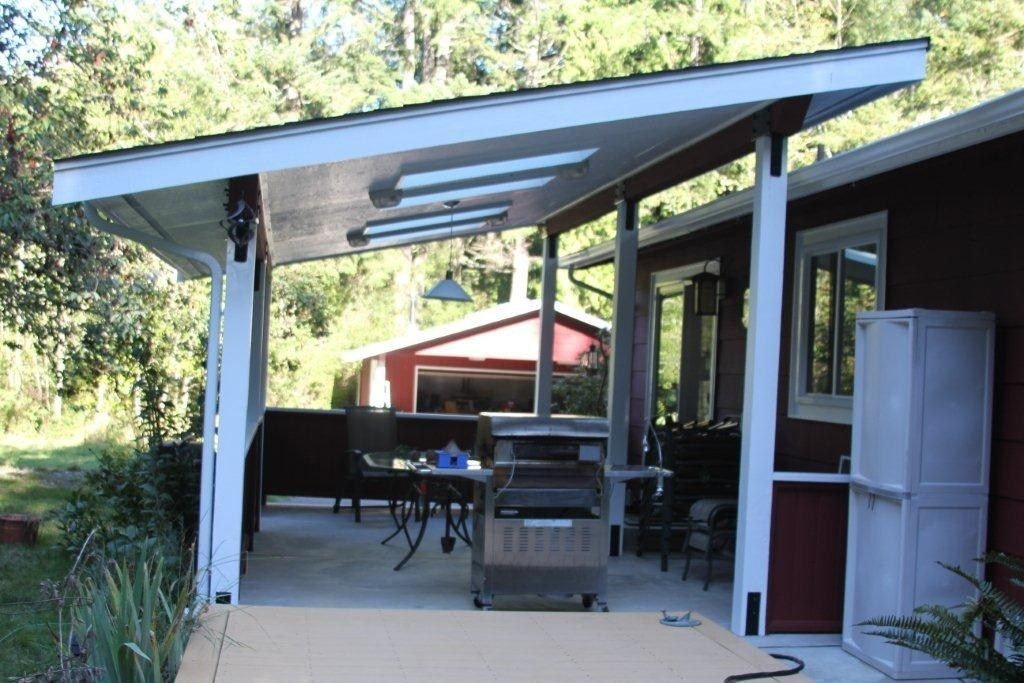 Good Looking Mid Century Esque Patio Cover Modern Patio