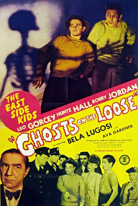 old horror movie posters from the 40 | 1943 | Classic Horror Movie Posters