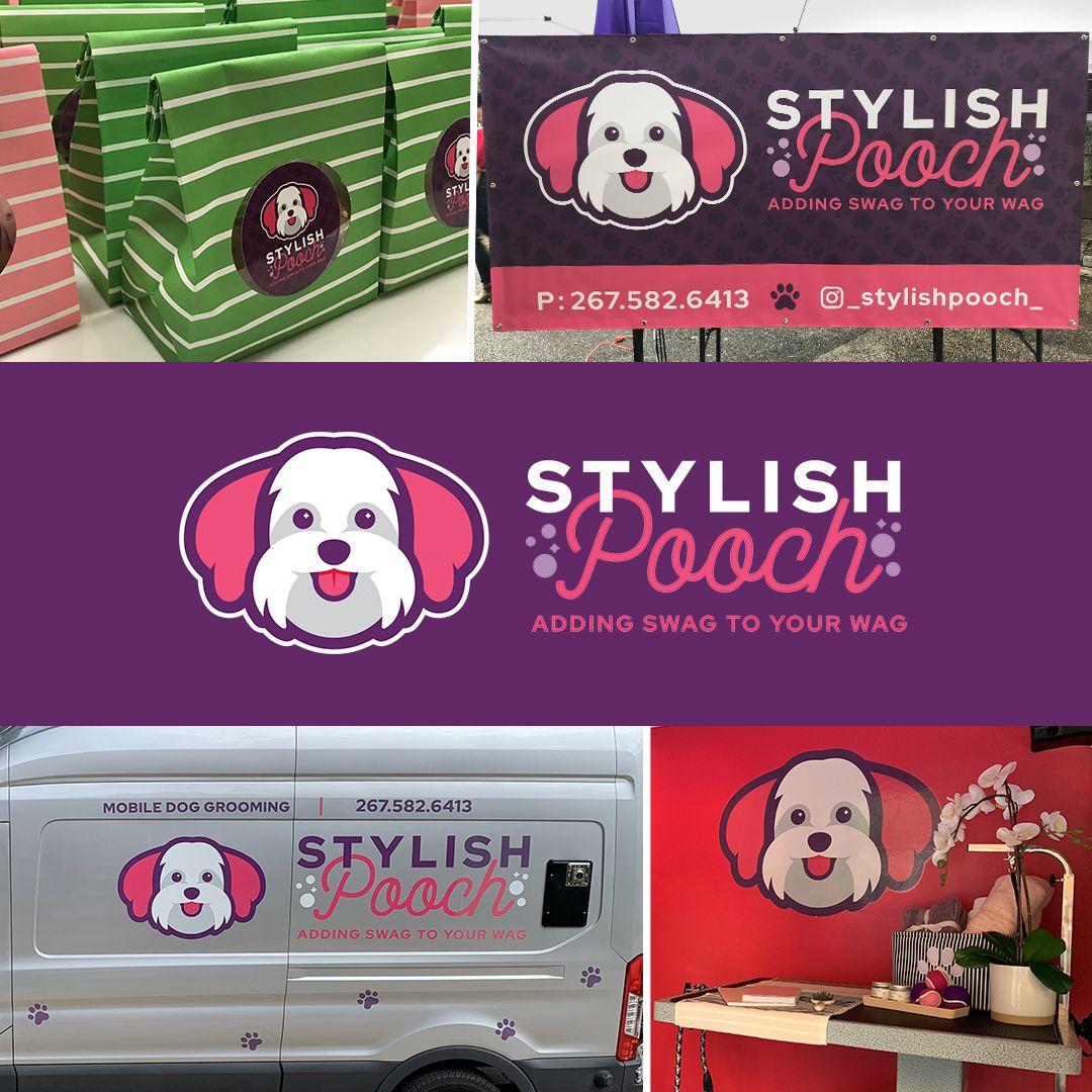Stylish Pooch Vistaprint Design Services Brand Makeover Stylish Pooch Service Design Graphic Design Services [ 1080 x 1080 Pixel ]