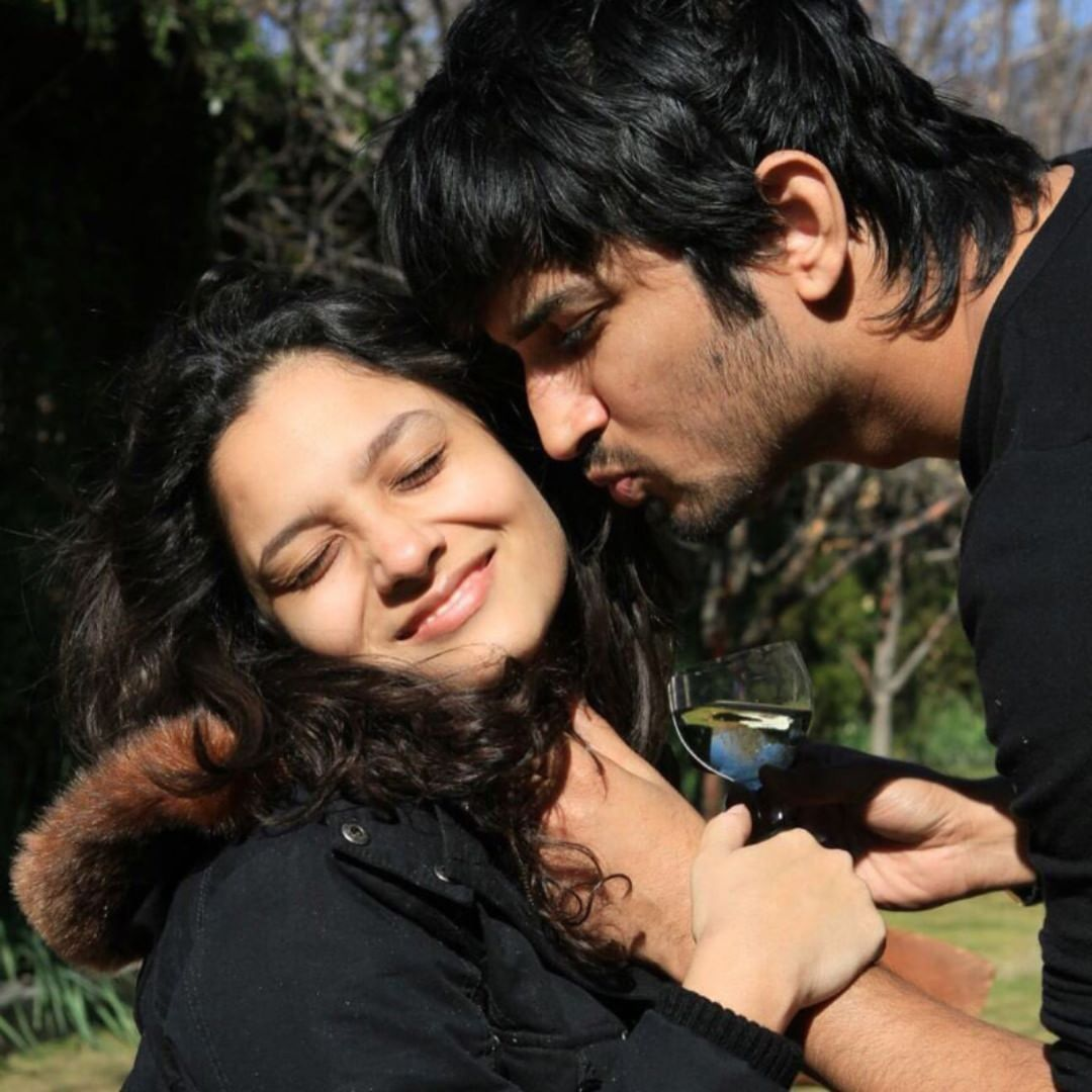 These Unseen Pictures Of Ankita Lokhande And Sushant Singh