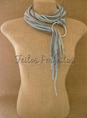 MADE PERFECT: FABRIC NECKLACE OR SCARF BELT - 3 PARTS 1