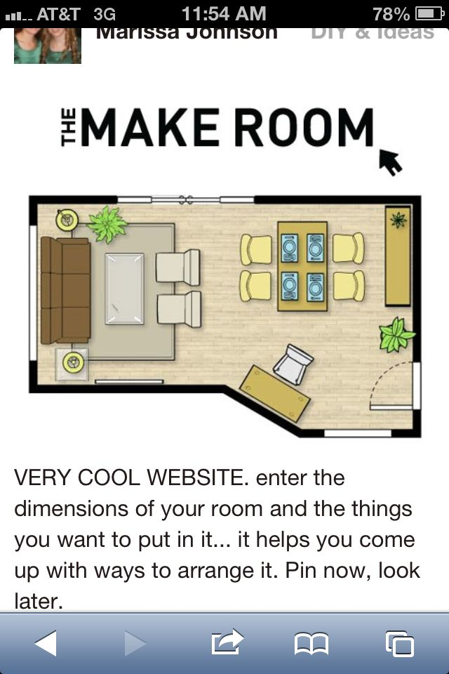 Planning Living Room Furniture Layout Design Modern Your Own Household Decorating Tips Pinterest Cool Website Enter Dimensions The Things You Want To Put In It Comes Up With Ways Arrange
