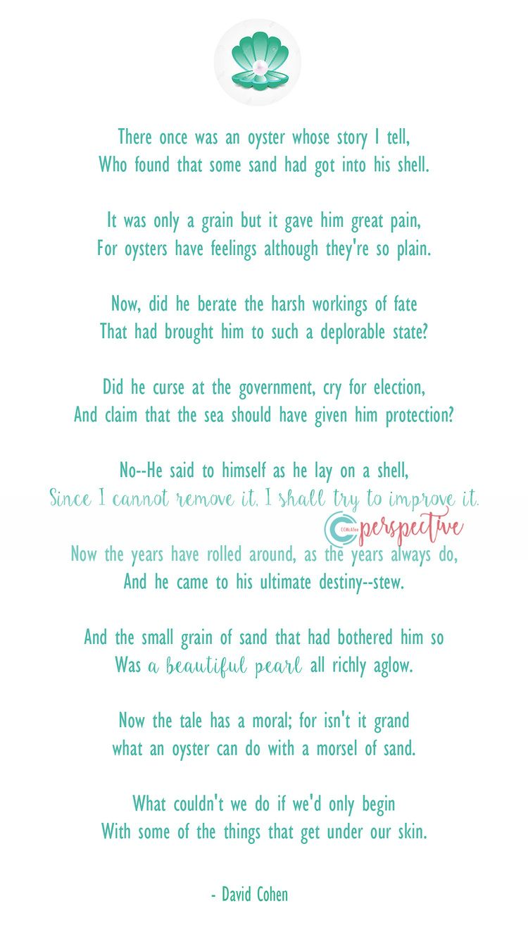 Great Small Quotes Quotes With Handouts  Young Women's Parable Of Pearl Pearl Poem