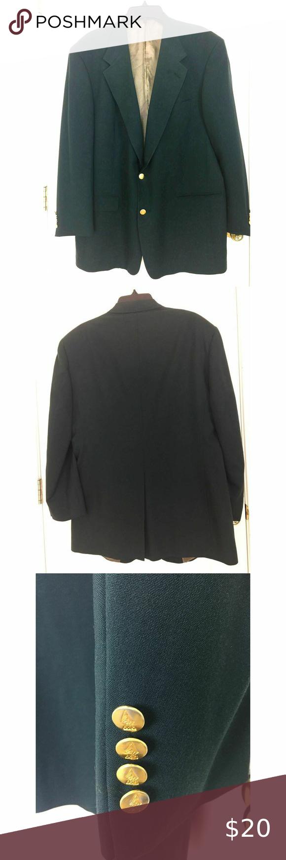 Austin Reed Men S Blazer Coat Jacket Usa 44 L Vtg In 2020 Blazer Coat Blazer Clothes Design