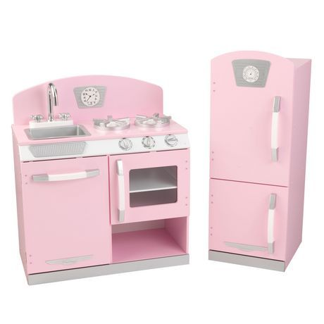 Kidkraft Kidkraft Retro Kitchen & Refrigerator in 2019 ...