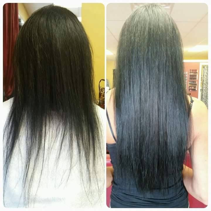 5 Packs Of Babe Hair Fusion Hair Extensions Hair By Tracey Medici