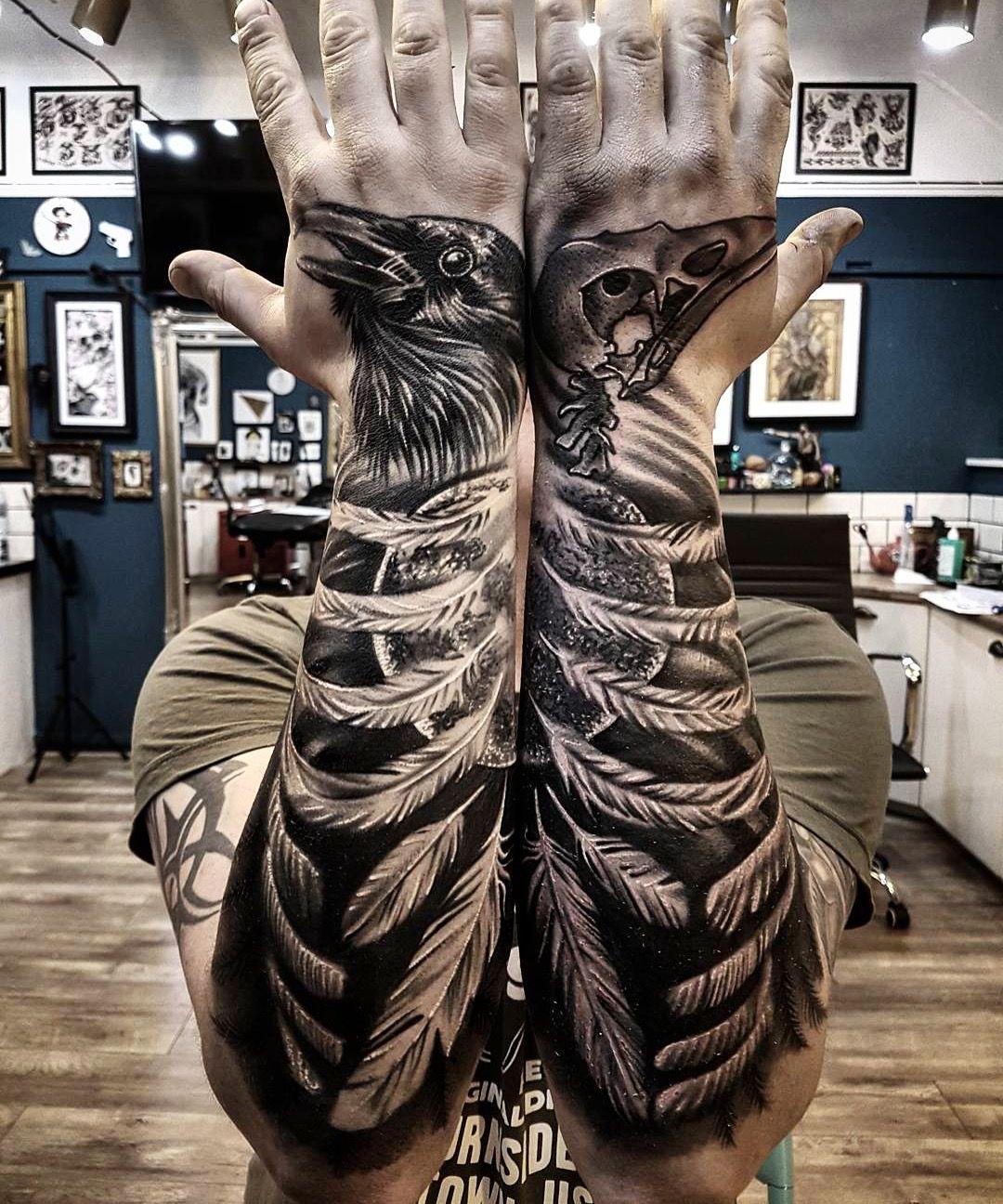 tattoo corvo vida e morte tatuagens pinterest corvos morte e tatuagens. Black Bedroom Furniture Sets. Home Design Ideas