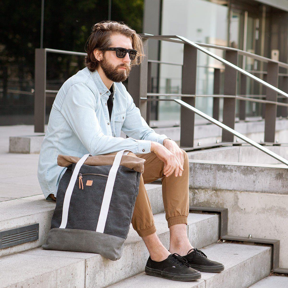 Hendrik canvas bag Bags, Canvas bag, Modern bag