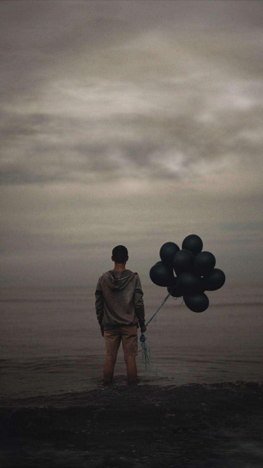 Sky Balloons, Black Sky id 46498 Love wallpaper