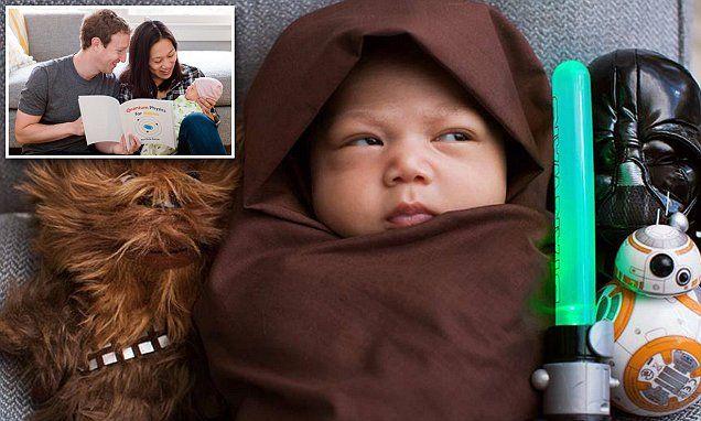 Mark Zuckerberg posts photo of daughter Maxima in aJedi cloak