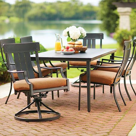 Shop Our Patio Furniture Department To Customize Your Oak Heights
