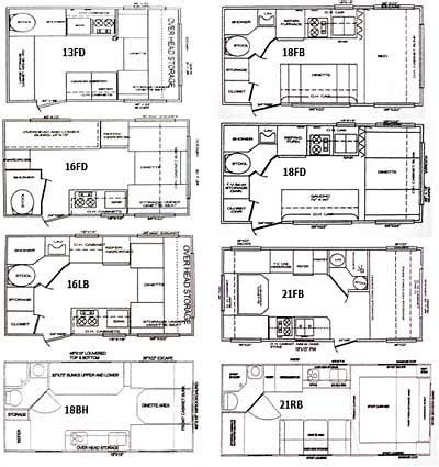 Image Result For 7x16 Cargo Trailer Conversion Floor Plans Check