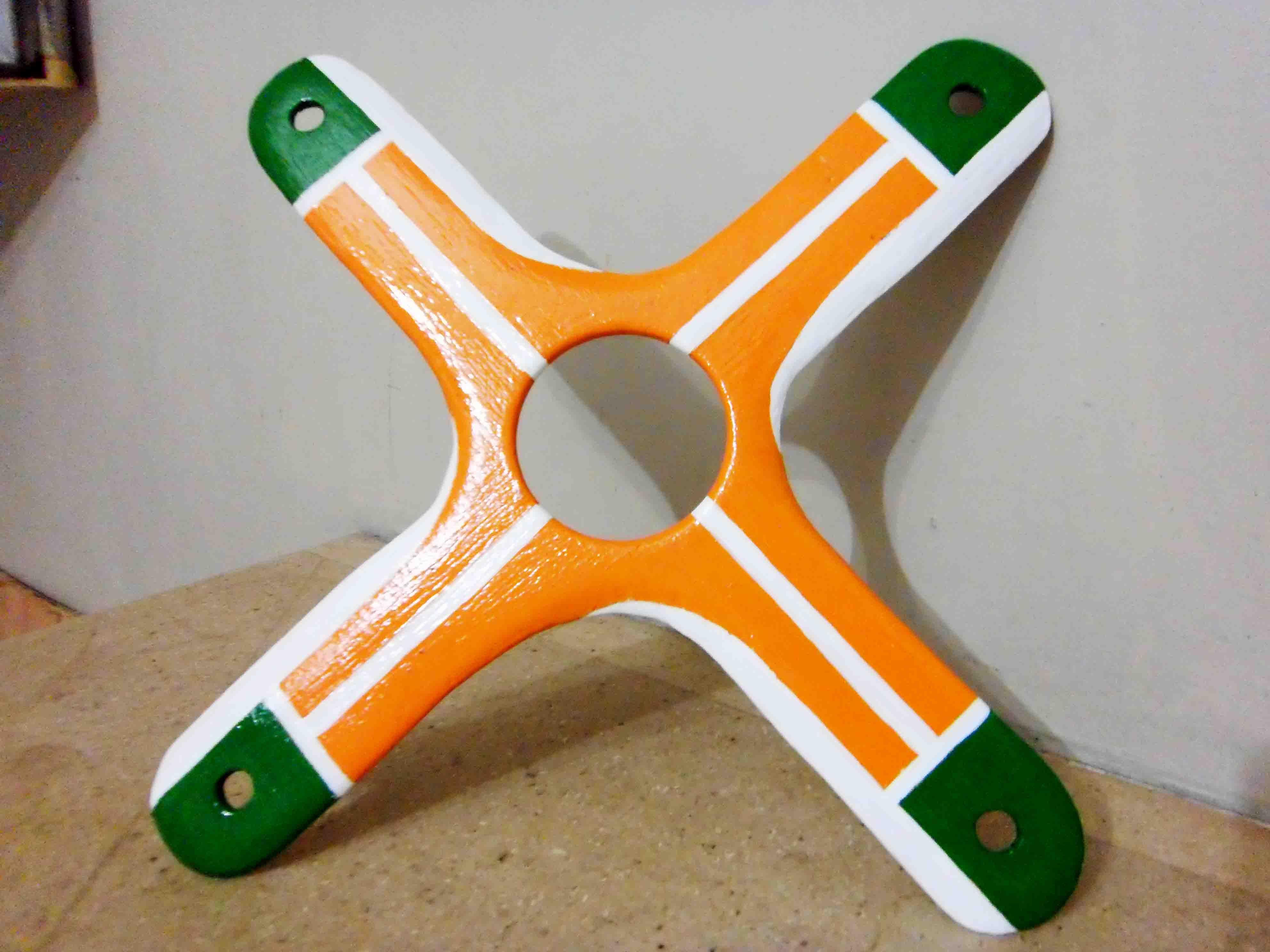 New crossed boomerang.