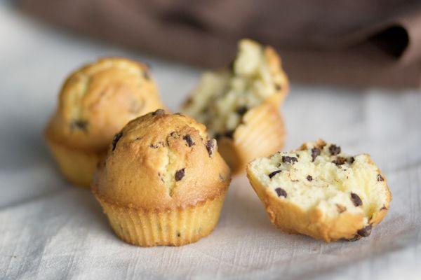 Ricetta Muffin con le gocce di cioccolato - Labna
