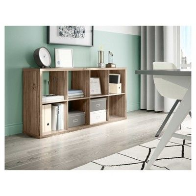 8 Cube Organizer Shelf 13 Gray Threshold Shelves 8 Cube