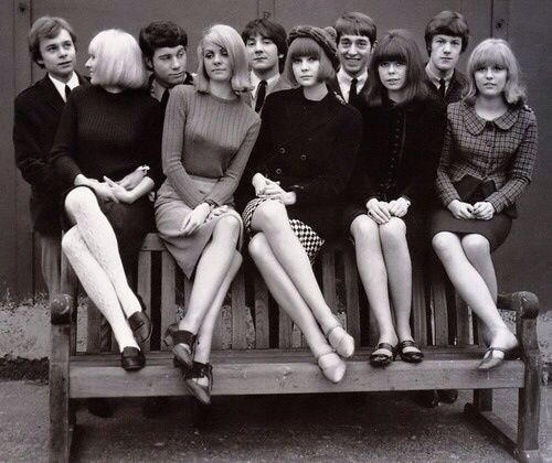 Young mods, England, 1960s.