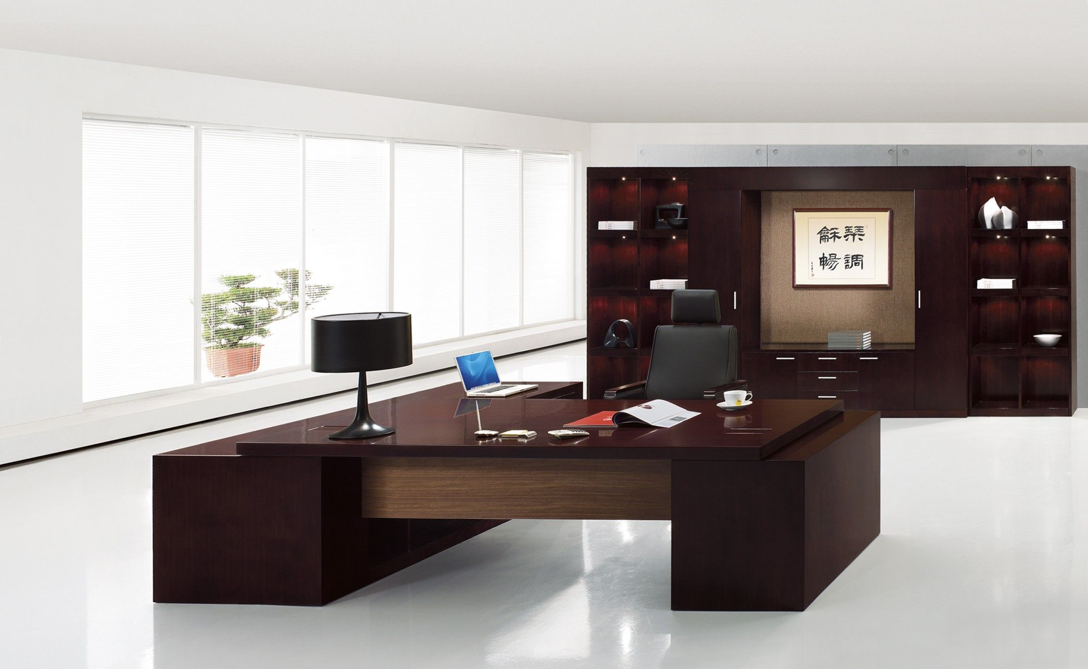 Modern desk furniture contemporary executive office furniture