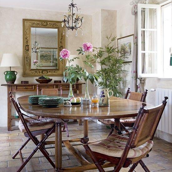 französisch landhausstil esszimmer | desayunador | pinterest, Esstisch ideennn