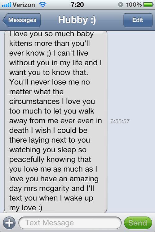 Boyfriend Messages Text Good Morning