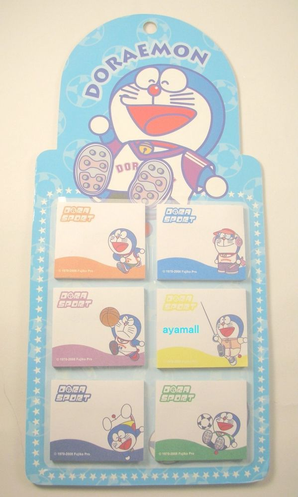 Auth DORAEMON mini note\/memo pad\/writing board set Doraemon - board memo template
