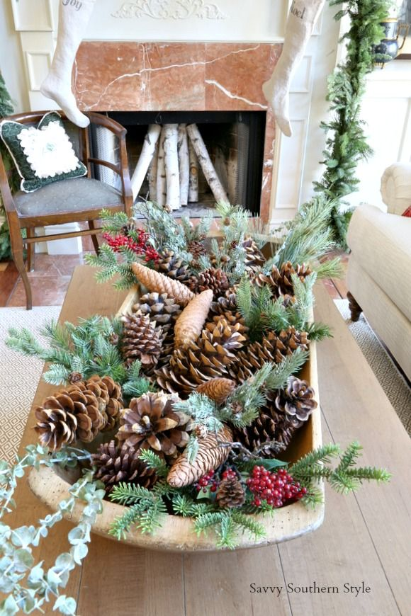 A blog about home and garden design including French Country design - southern living christmas decorations