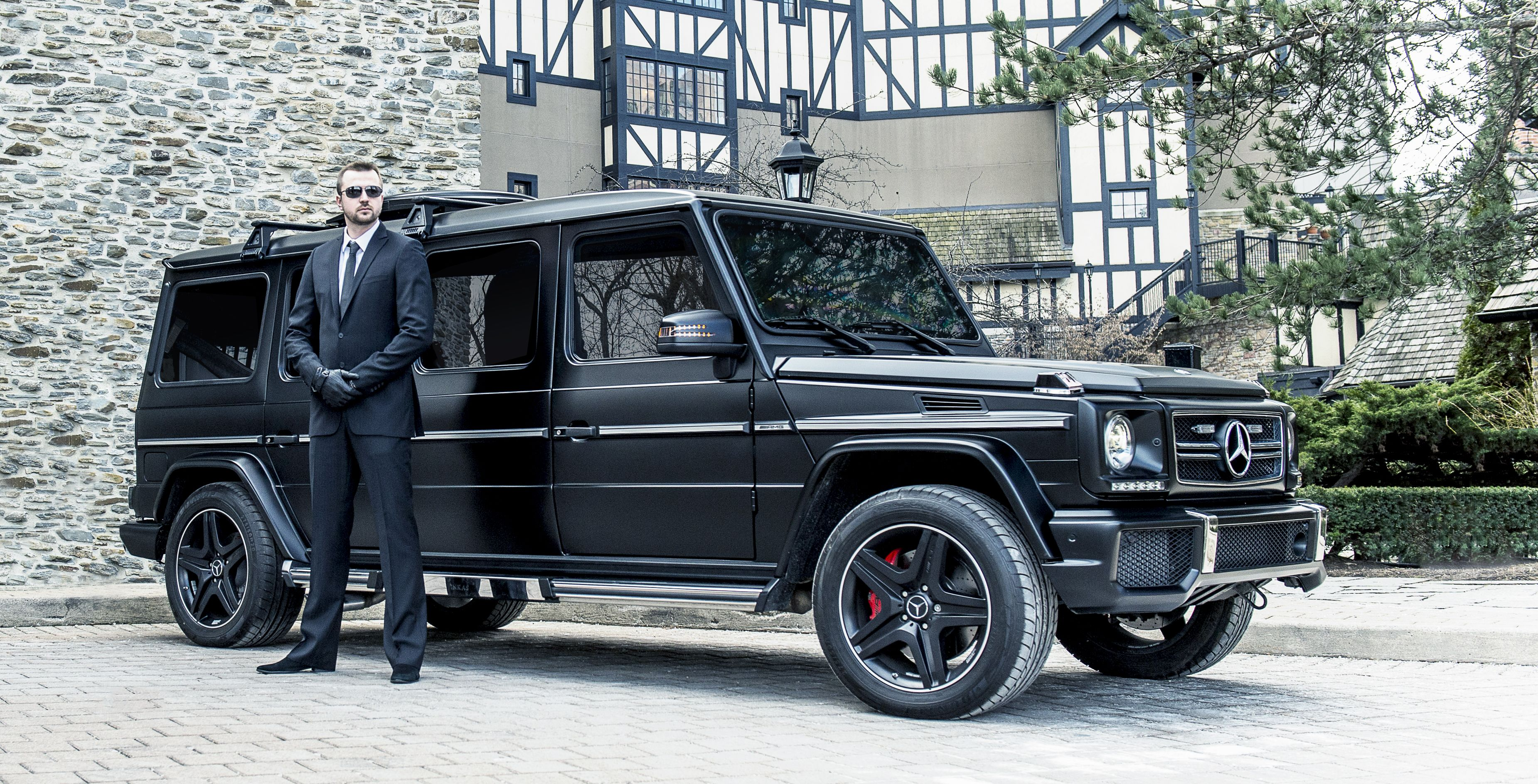 $1 million dollar bullet proof Mercedes G Wagon