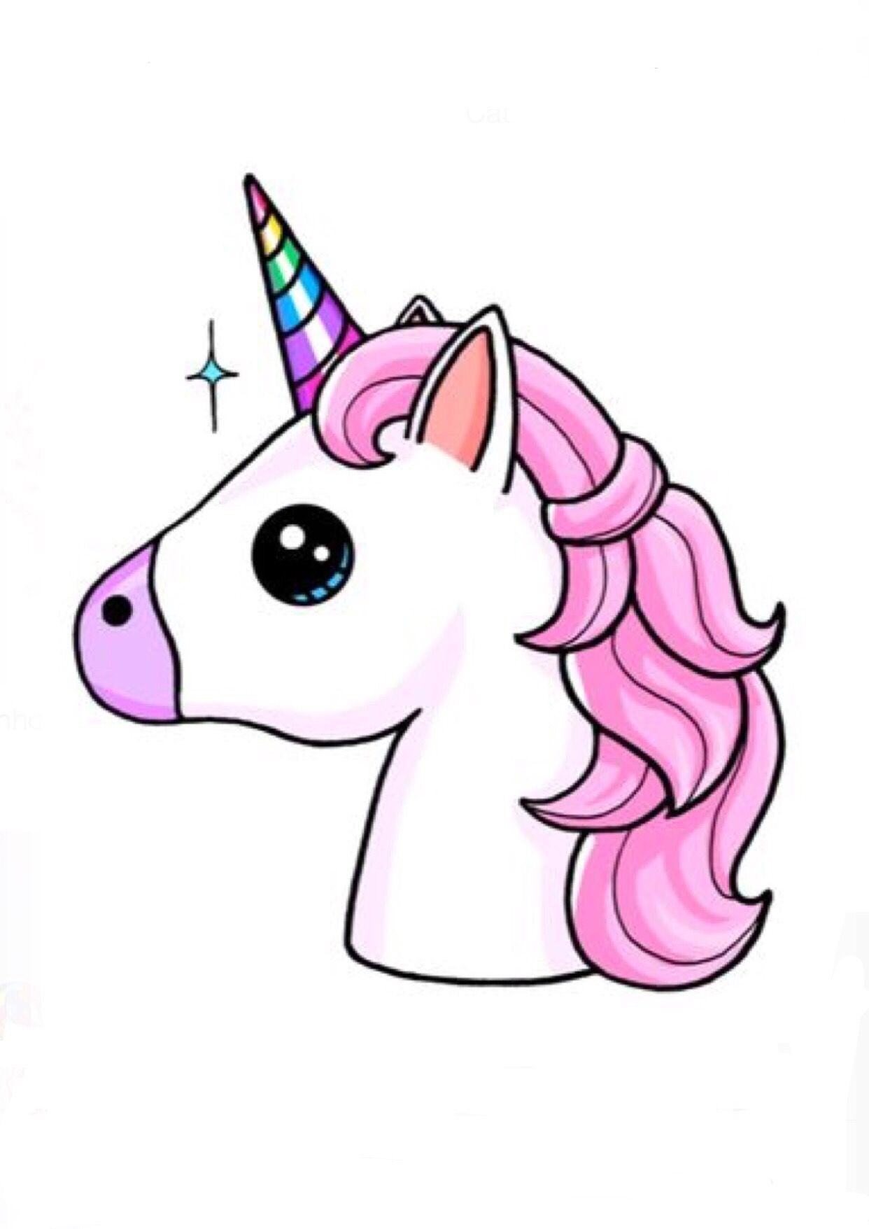 Pin by Carol Bizwell on Emoji in 2019 Unicorn drawing