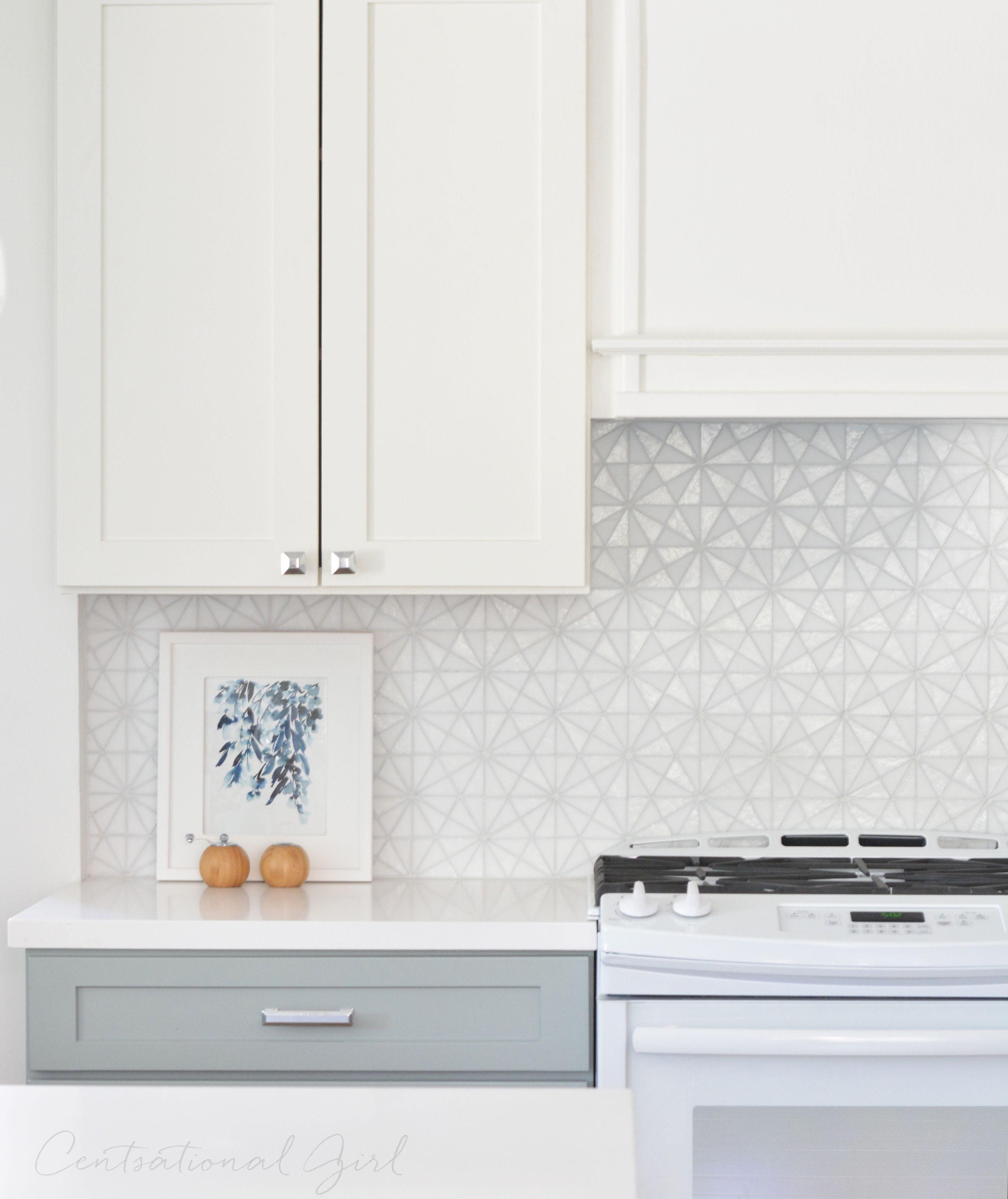 - Kitchen Remodel Glass Tiles Kitchen, White Tile Backsplash