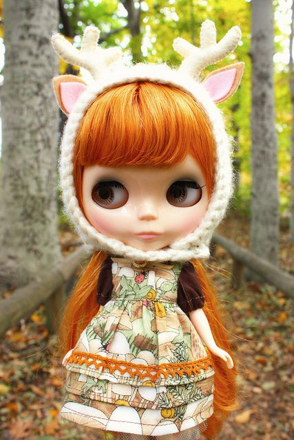 Lilly Buttercup: Blythe is beautiful, and so are dirndls and the forest.