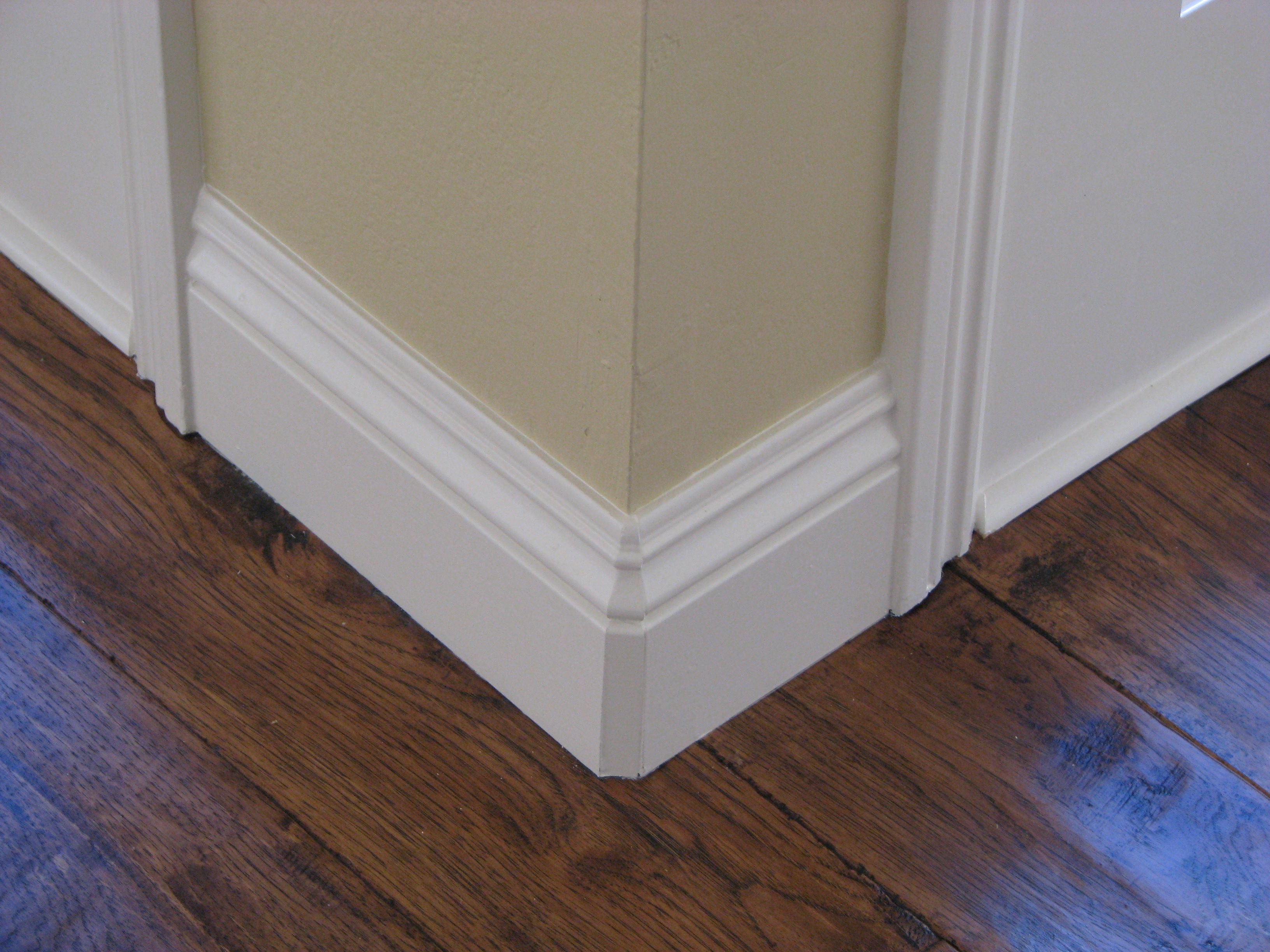 here s our standard baseboard santa fe mdf 4 5 with a swiss