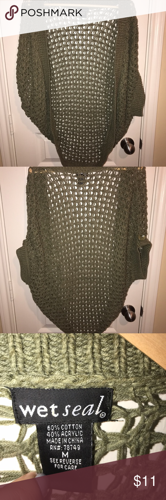 Fashionable cardigan Great accessory to your fall outfit. Wet Seal Sweaters Cardigans
