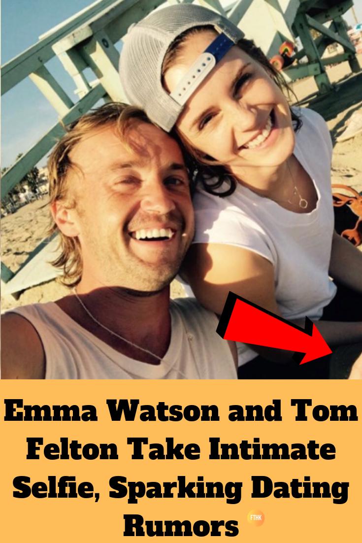 Emma Watson and Tom Felton Take Intimate Selfie, Sparking
