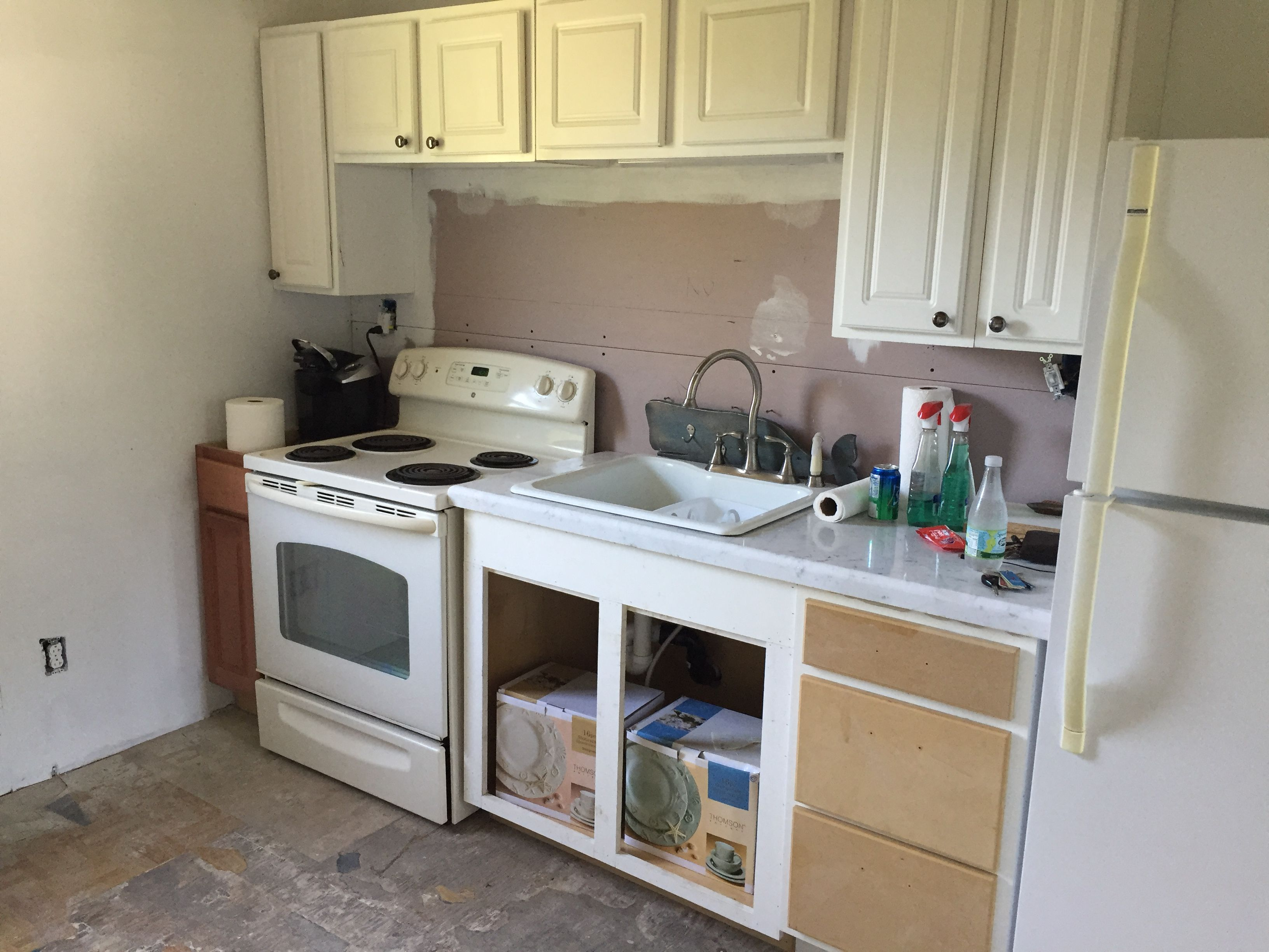 Kitchen Cabinets Craigslist Stove Habitat And Marble Countertop Free On The