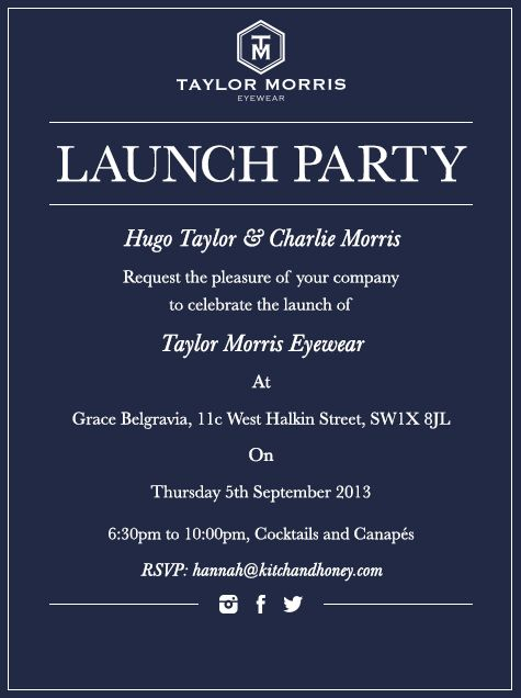 Portraits Of London  Launch Party Party Invitations And Business