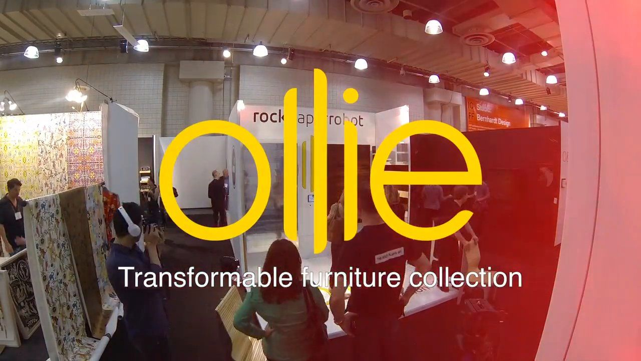 RockPaperRobot Ollie Collection Debut @ ICFF 2015: Testimonials