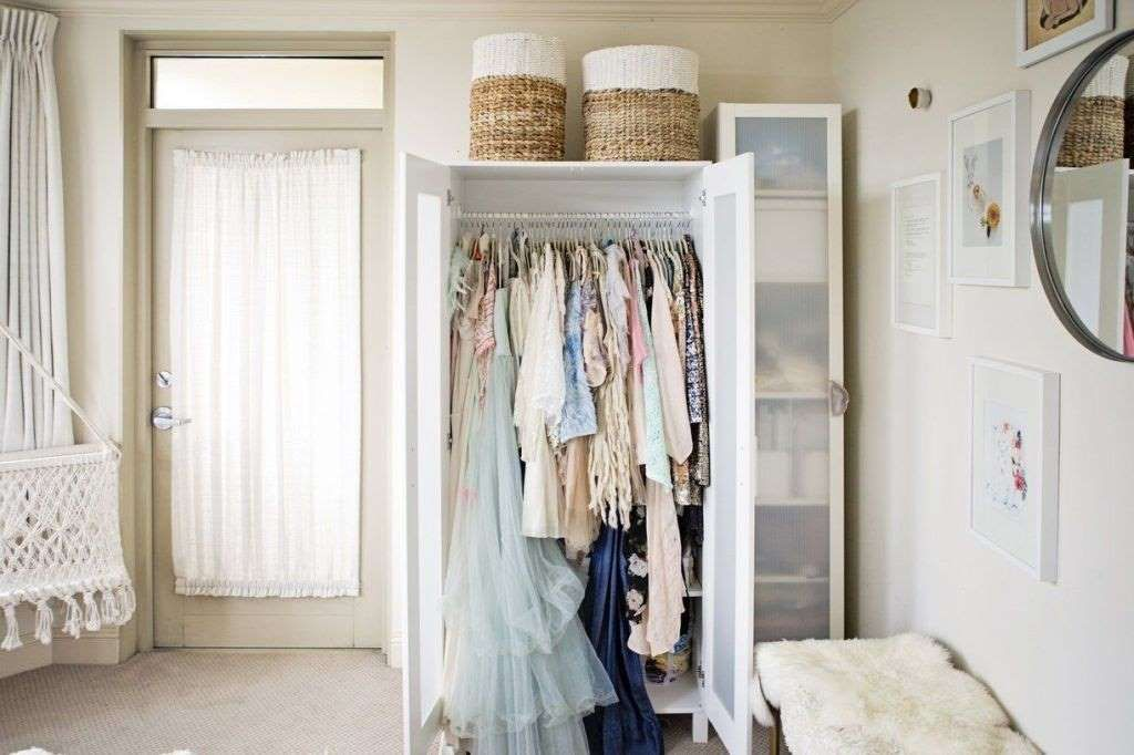 No Closet Problem Wardrobes Are Just As Handy And Can Even Make A Statement In Your Room This Kim Lucian