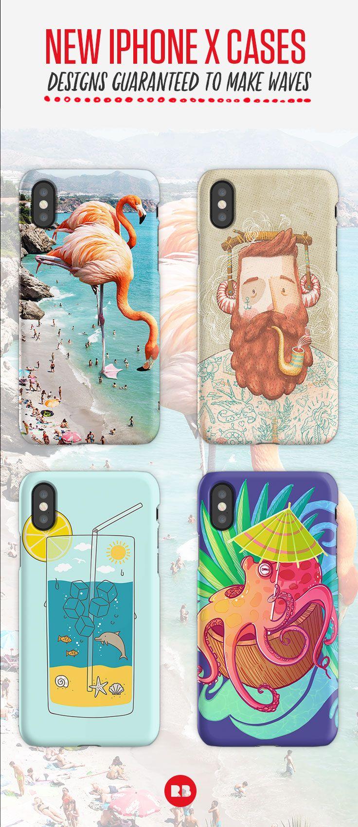 pretty nice 32ff6 66ac7 Flamingos on the Beach #redbubble #decor   iPhone Case & Cover ...