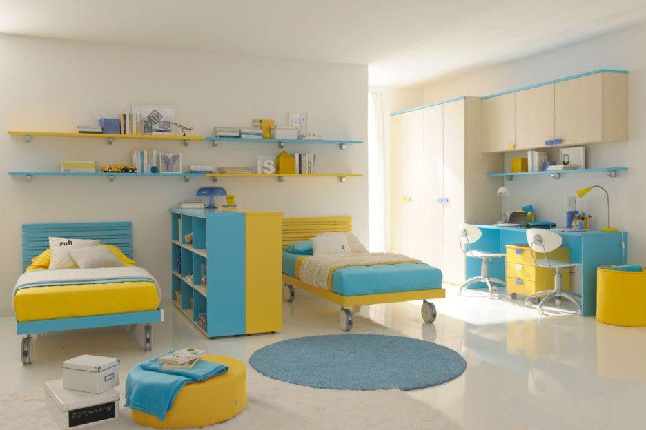 Twin Kids Room Dividers