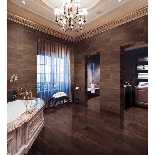 Stockbridge Espresso Wood Plank Porcelain Tile 6in X 24in 100105972 Floor And Decor