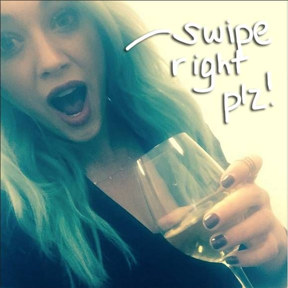 Hilary Duff goes on her first Tinder date!