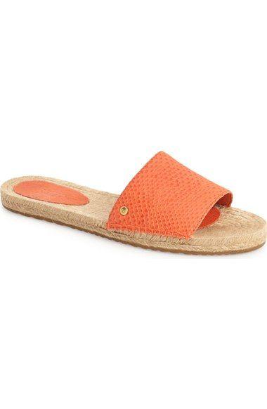 d7ee2c10b8e UGG® 'Cherry Exotic' Slide Sandal (Women) available at #Nordstrom ...