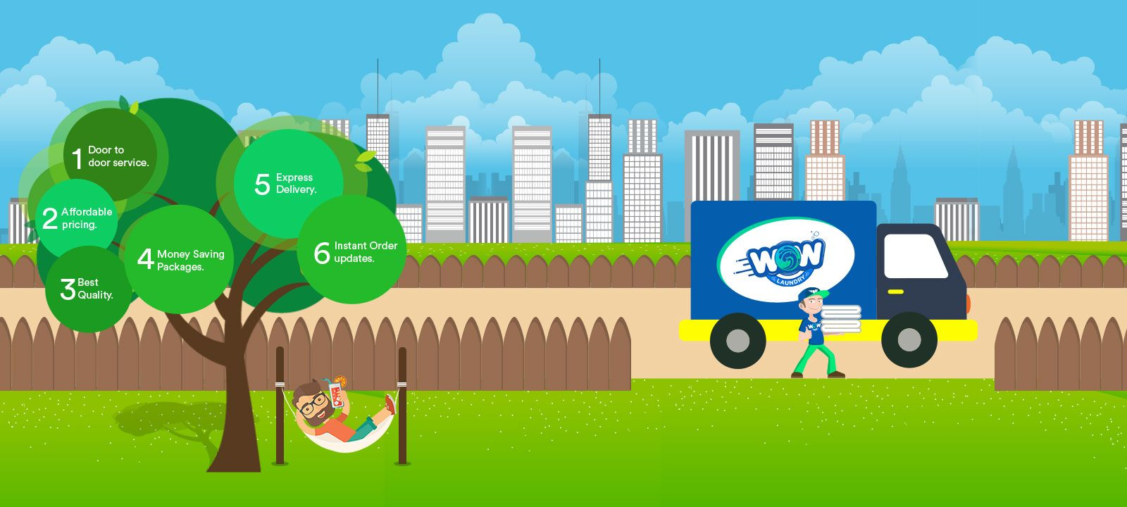 Wow Laundry Provides Online Laundry Service In
