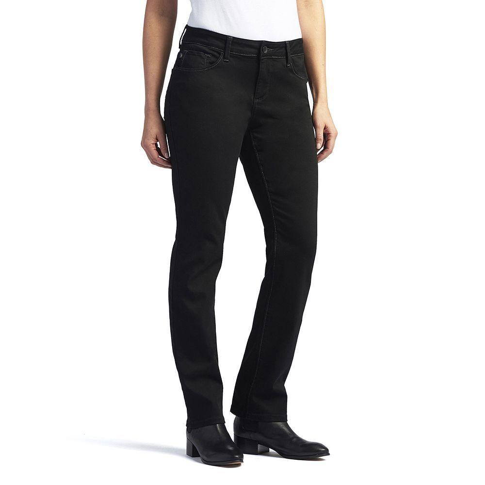 3ed6f3f1e36 Lee Women s Secretly Shapes Regular Fit Straight-Leg Jeans ...